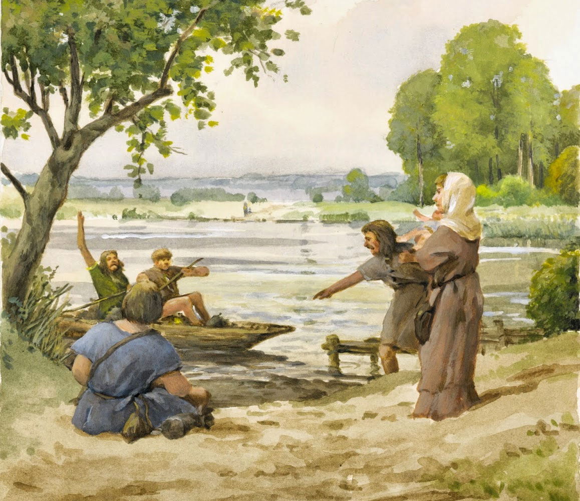 Artistic impression of the boat in use.