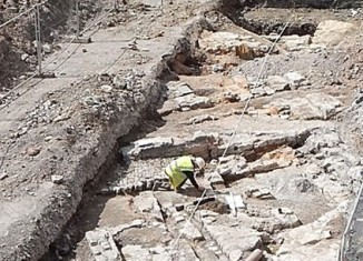 Bedminster Mill excavations. Image: BaRAS