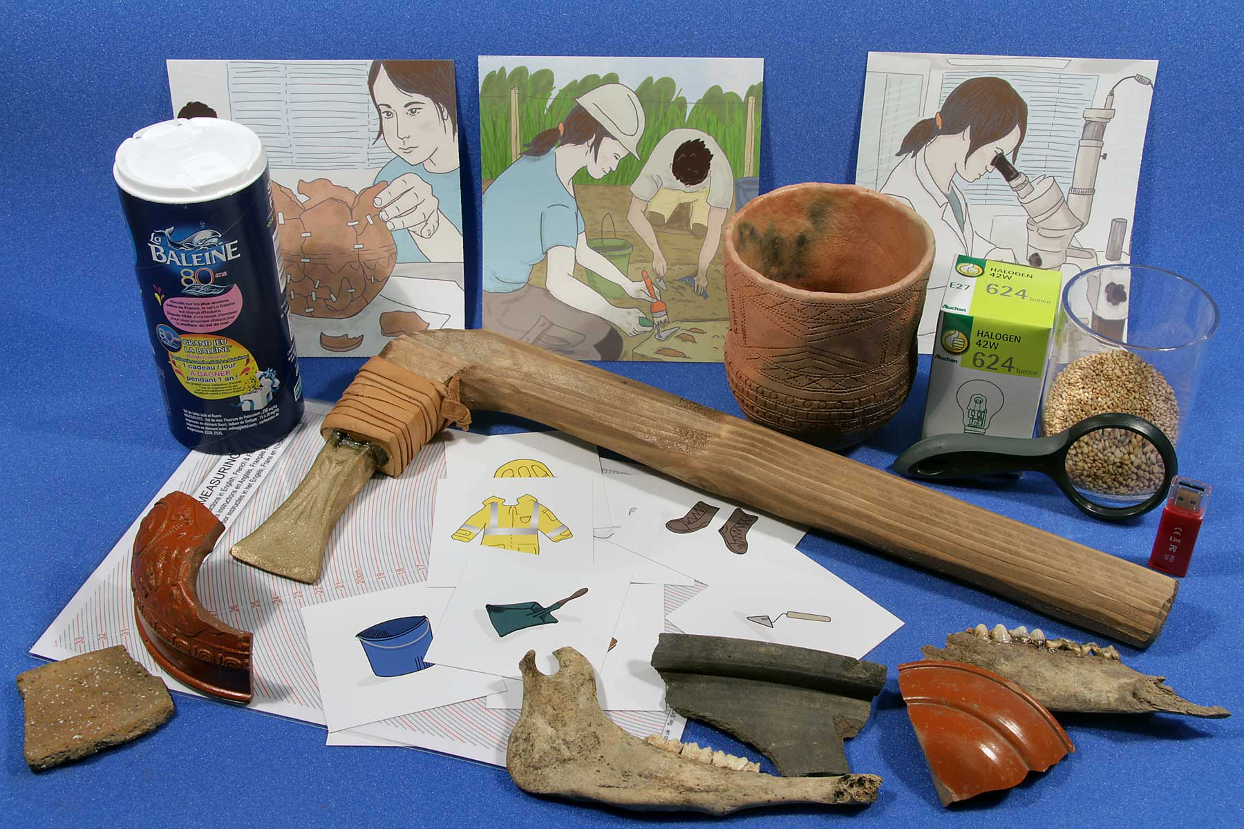Part of the Bronze Age Boat Kit. © Canterbury Archaeological Trust Ltd 2014