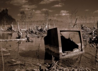 """""""Swamp TV"""" by James Good is licensed under CC BY-NC-ND 2.0"""