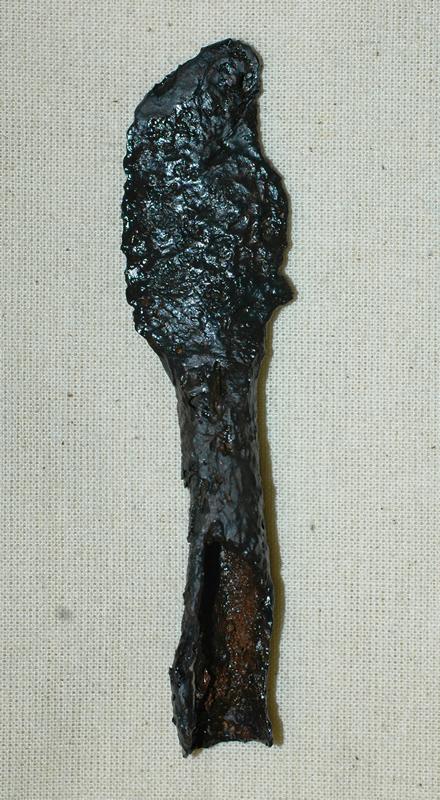 Javelin head.  Image: GUARD Archaeology
