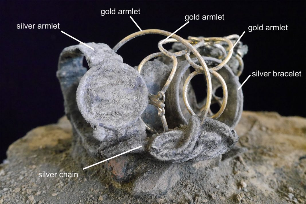 Fenwick treasure. Image: Colchester Archaeological Trust