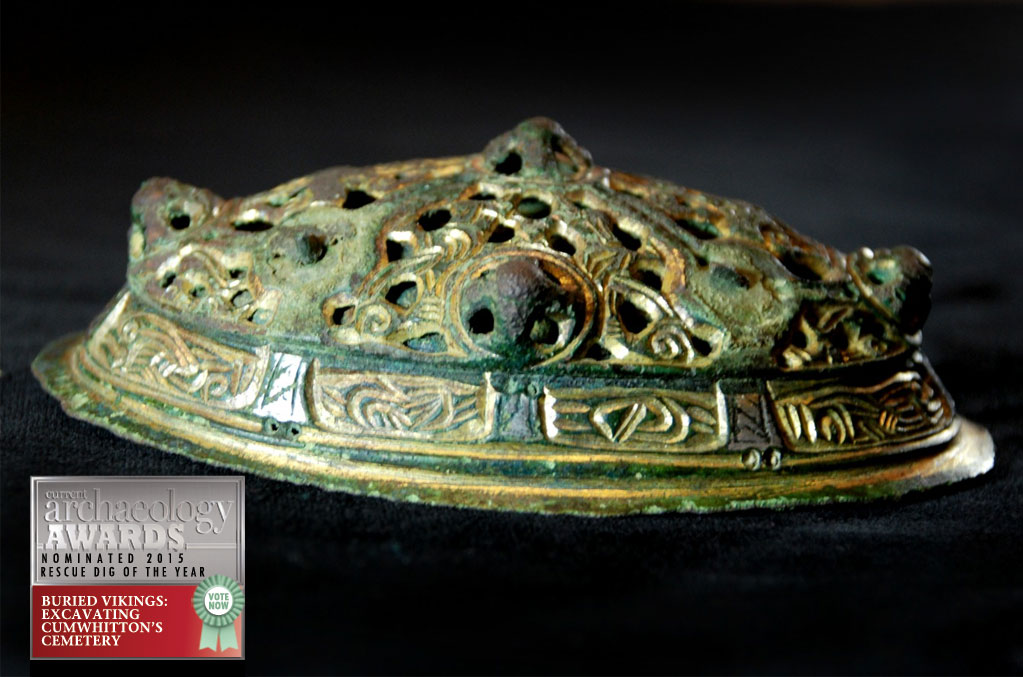 Cumwhitton Brooch © Oxford Archaeology Ltd