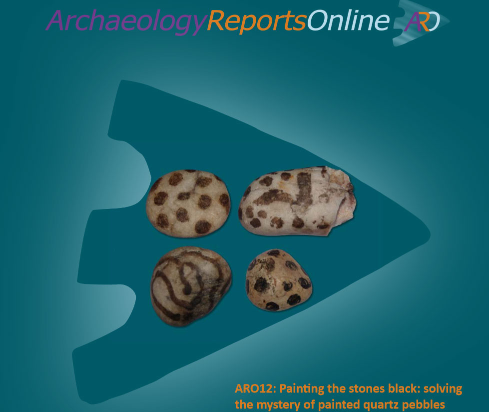 ARO12: Painting the stones black: solving the mystery of painted quartz pebbles.