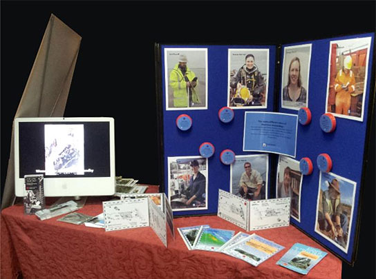 Wessex Archaeology Stall at the conference