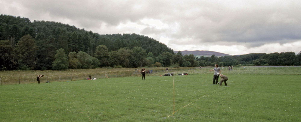 The Garvald Burn site prior to excavation © GUARD Archaeology Ltd