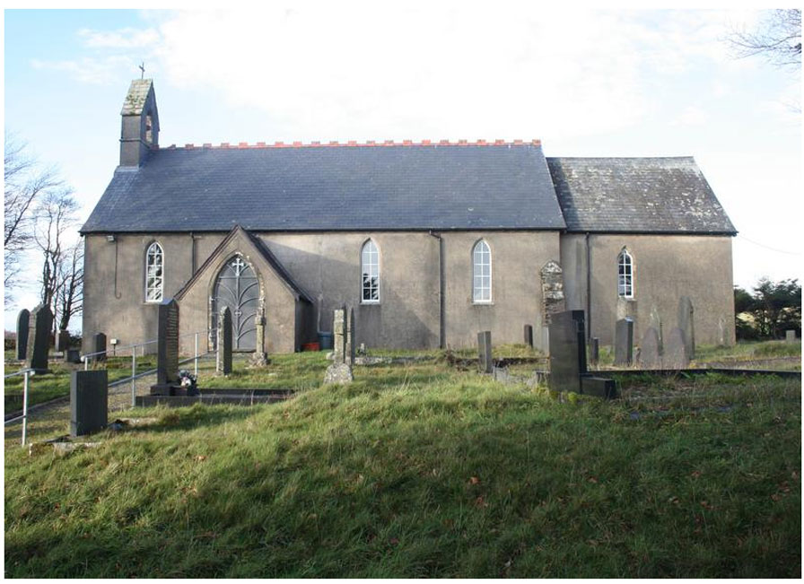 Llantrisant Church. Image: Wessex Archaeology