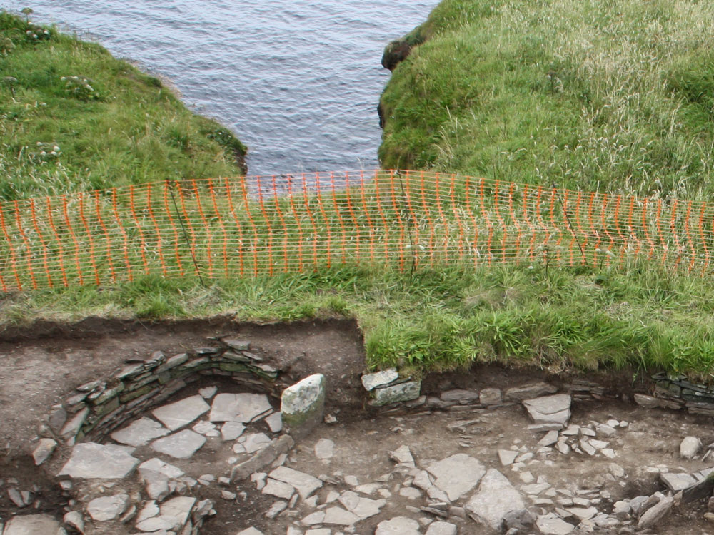 Nybster Broch. Image: AOC Archaeology Group