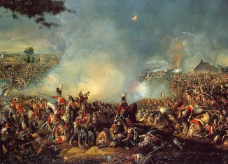 """Battle of Waterloo 1815"" by William Sadler II - http://www.napoleon.org.pl/forum/download/file.php?id=2049&mode=view. Licensed under Public Domain via Wikimedia Commons - http://commons.wikimedia.org/wiki/File:Battle_of_Waterloo_1815.PNG#/media/File:Battle_of_Waterloo_1815.PNG"
