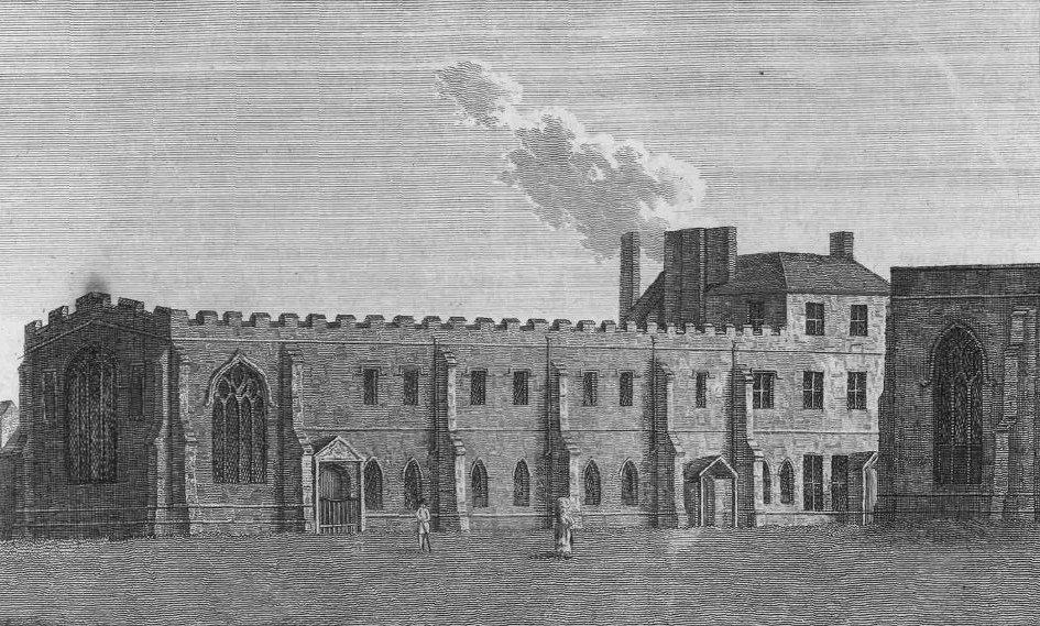 Wyggeston's Hospital, c.1791