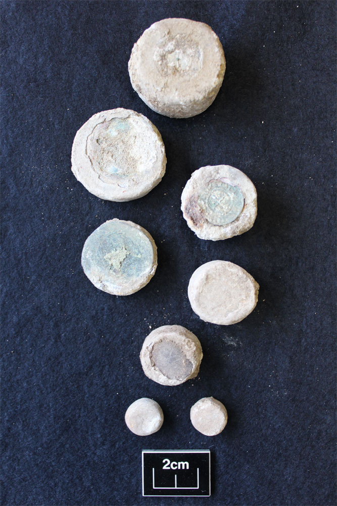 weights. Image: Archaeological Solutions Ltd