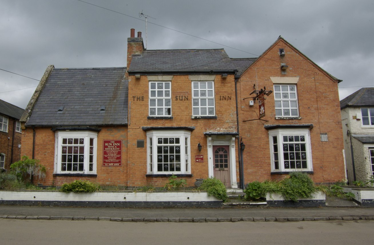 The Sun Inn prior to its conversion. Although the original building dates from around 1700, most of the building is 19th century in date. Image: ULAS