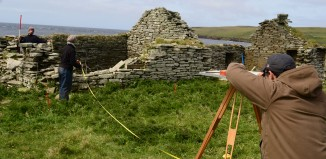 """19th century """"Highland Clearance"""" landscape - Surveyed by students from UHI"""