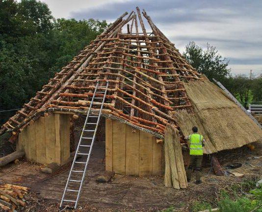 Roundhouse under construction (c) AOC
