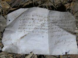 Letter (c) National Trust