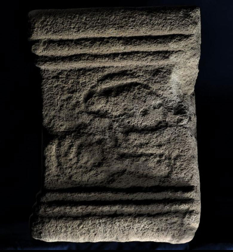 RTI Image of altar -  (c) Wessex Archaeology
