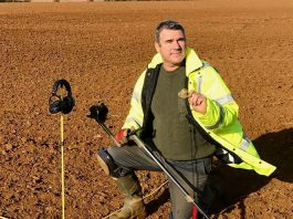 Metal detecting survey work © Keith Westcott