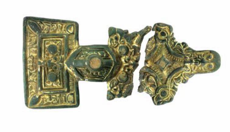 Square-headed Anglo-Saxon Brooch c.500 ADv