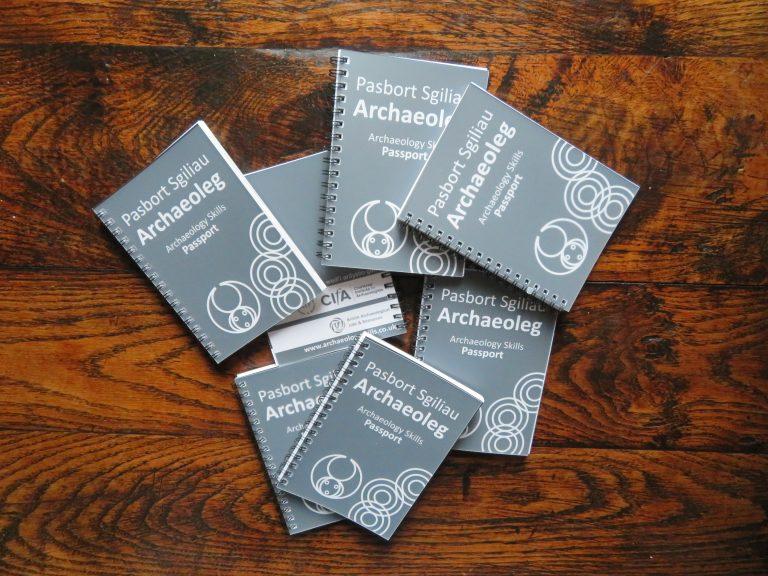 Bilingual Welsh-English Archaeology Skills Passport
