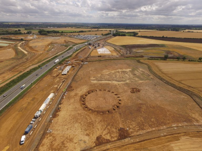 Highways England Master's Studentships on the archaeology of the A14 via MOLA Headland JV