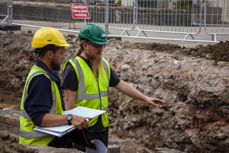 Wessex Archaeology leads the way with full time Fieldwork contracts for staff