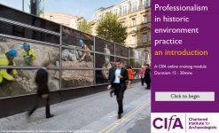 e-Learning course on CIfA website