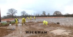 Archaeological Investigation at Wickham, Hampshire