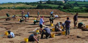 Ipplepen Archaeological dig